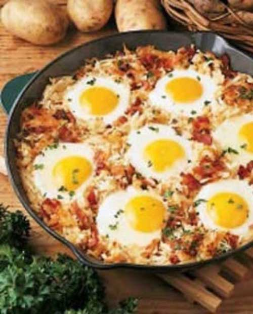 Easy Delicious Camping Food Ideas: 32 Quick And Healthy Campfire Breakfast Recipes For A Crowd