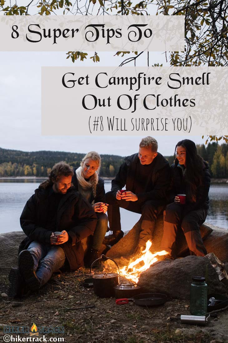 how to get campfire smoke smell out of clothes