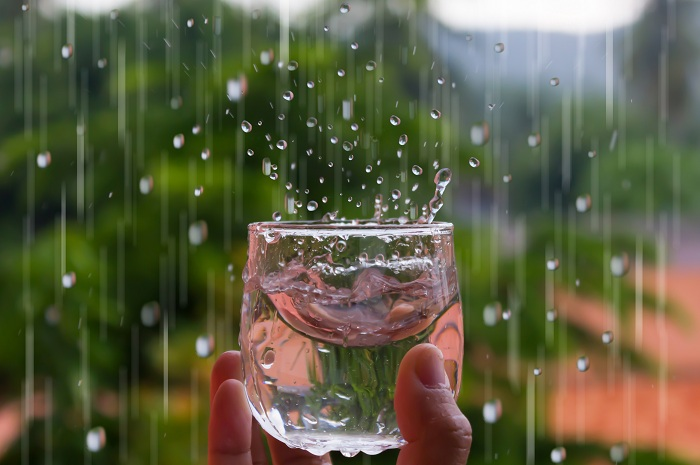 can you drink rain water