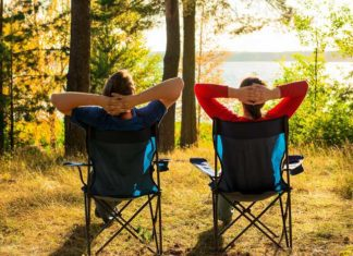 best camping chair for bad back