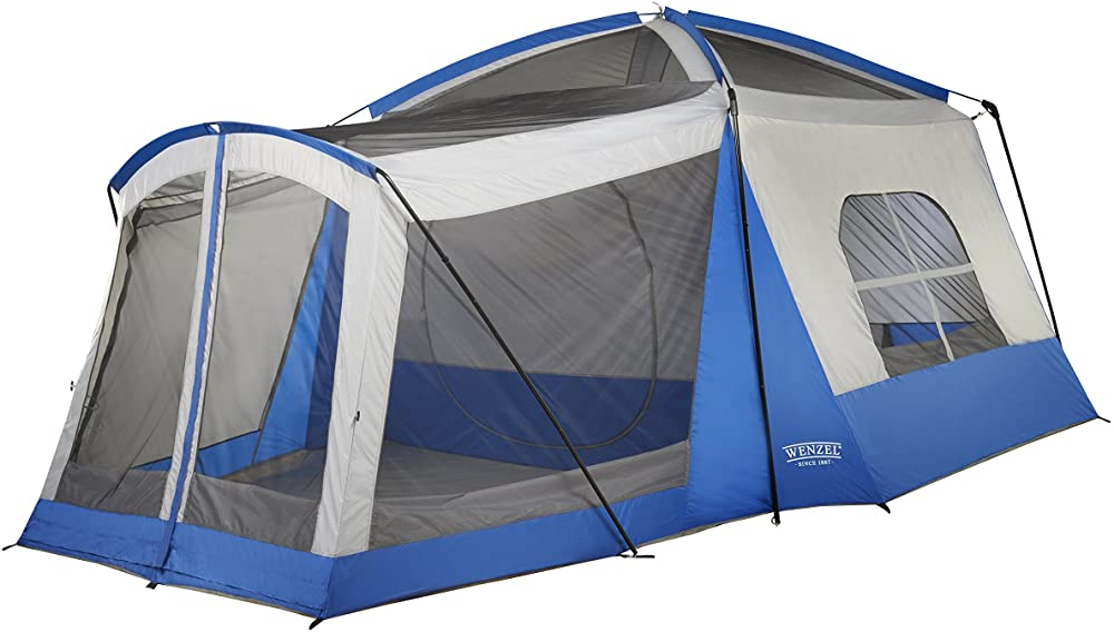 wenzel 8 person klondike tent review