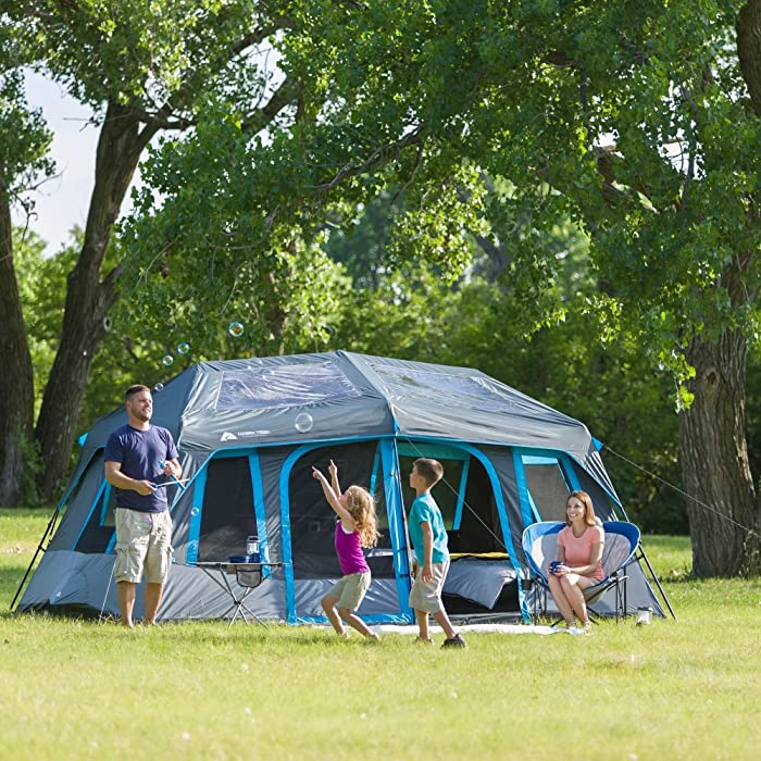 Ozark Trail 10-Person Dark Rest Instant Cabin Tent Review